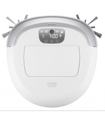 iCLEBO OMEGA - Robot Vacuum Cleaner -Made in Korea (White)