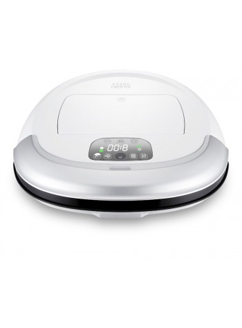 iCLEBO OMEGA - Robot Vacuum Cleaner -Made in Korea (White)