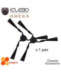 iCLEBO Omega-Accessories-Side Brush x 1 Pair
