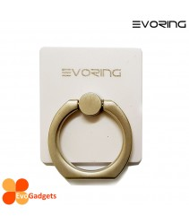 EVORing with Hook - Universal Masstige Ring Grip / Phone Stand /Phone Holder -White