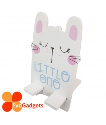EvoGadgets Portable Wooden Cartoon Phone Stand or Holder