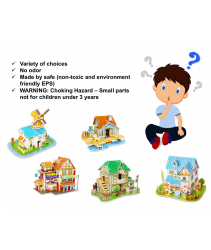 EvoGadgets 3D Puzzles Model Kits Educational Toys