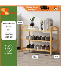 EvoGadgets - DIY Multi Tier Bamboo Shoe Rack Shoes Rack / Rak Kasut Buluh Bertingkat