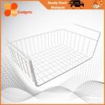 EvoGadgets Metal Grid Under Shelf Basket /Under Table Basket / Under Desk Storage Organizer / Under Shelf Basket Rack