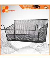 EvoGadgets  Bedside Storage Basket, Metal Mesh Organizer , Bedside Metal Mesh Organizer
